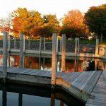 solid beautiful dock at slip