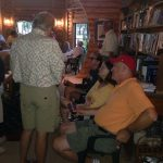 Duncan Bay Boat Club wine party