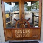 Duncan Bay Boat Club doors