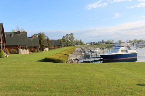 our marina - Duncan Bay Boat Club